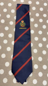 RE Armoured Regimental Embroidered Ties